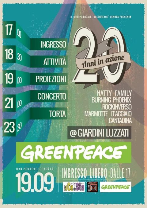 festa Greenpeace