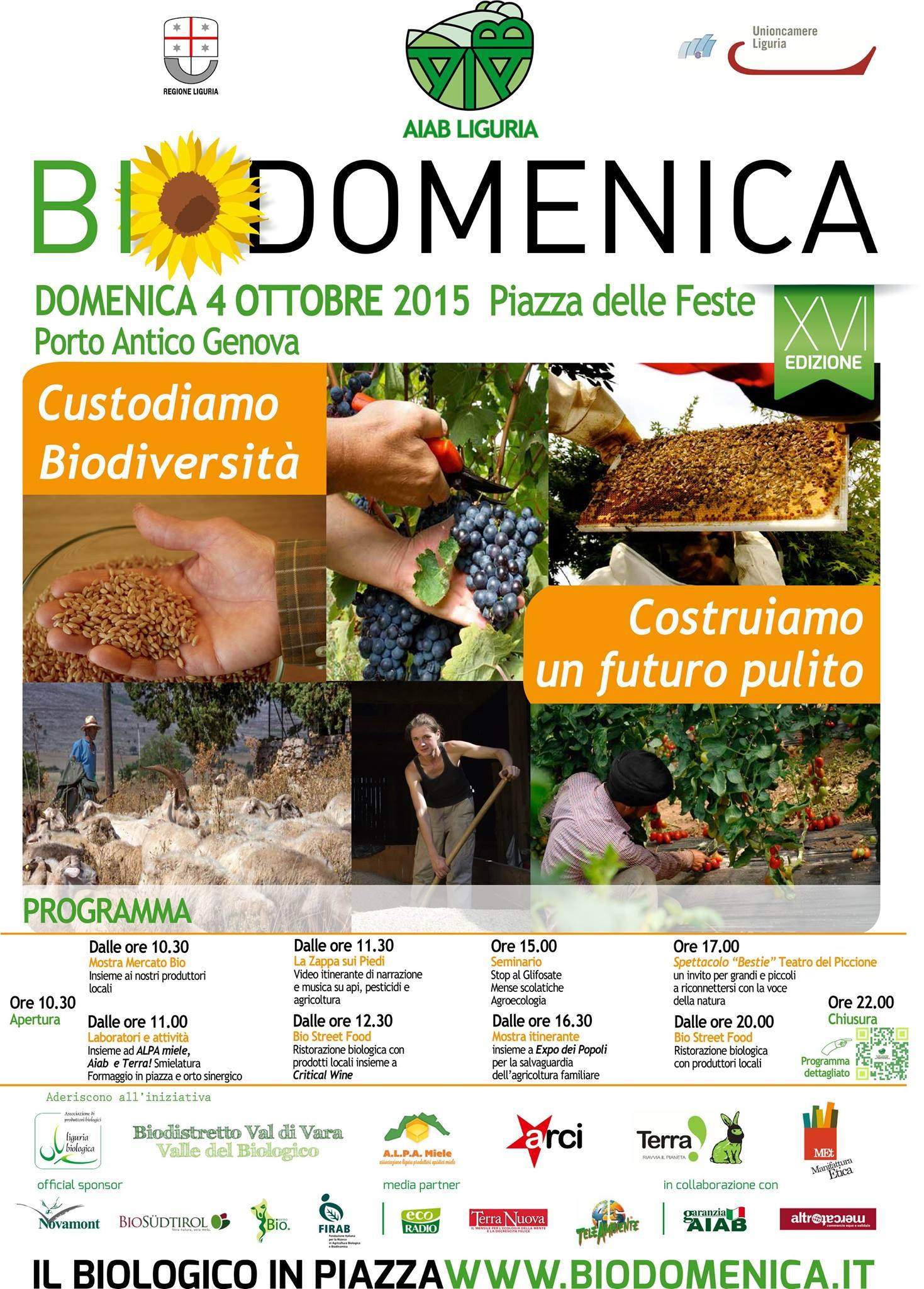 locandina Biodomenica 2015