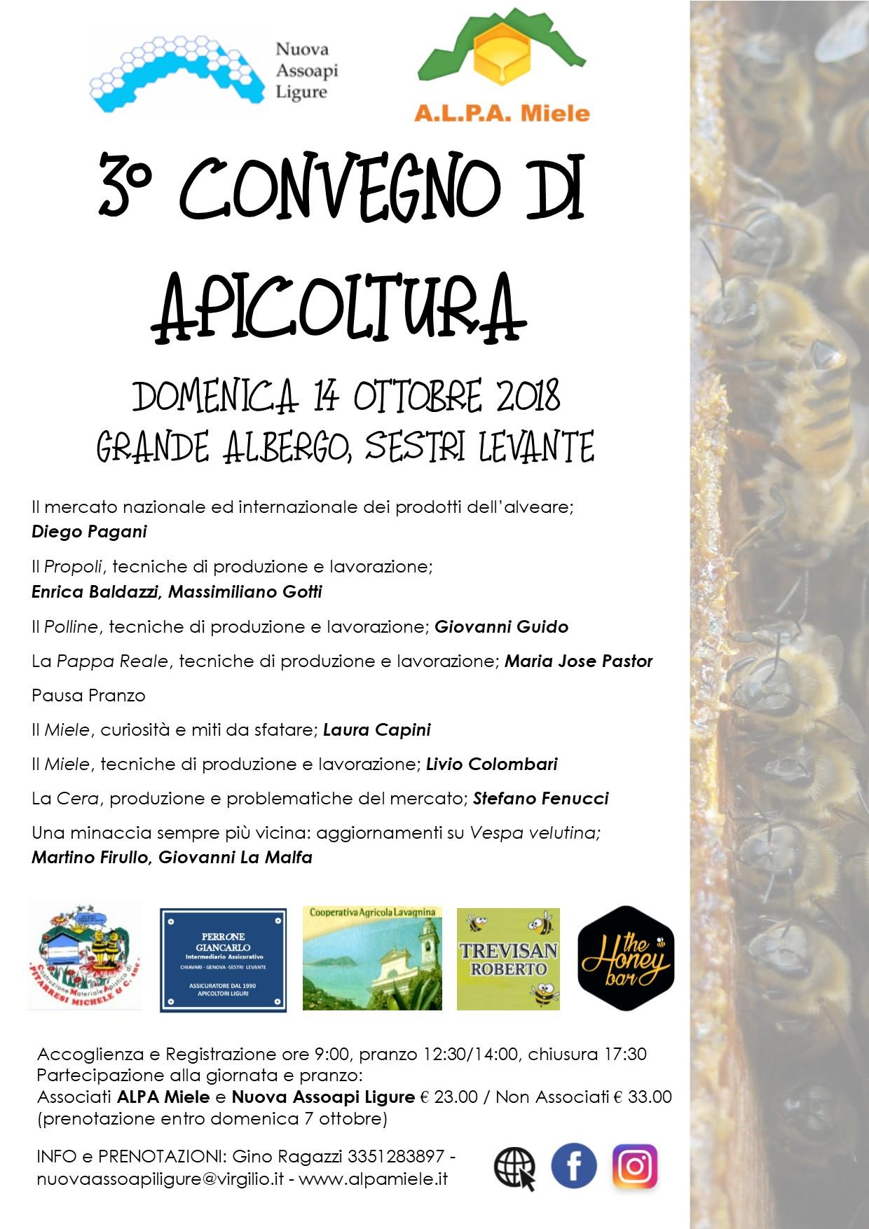convegno apicoltura 14-10-18 sestri levante