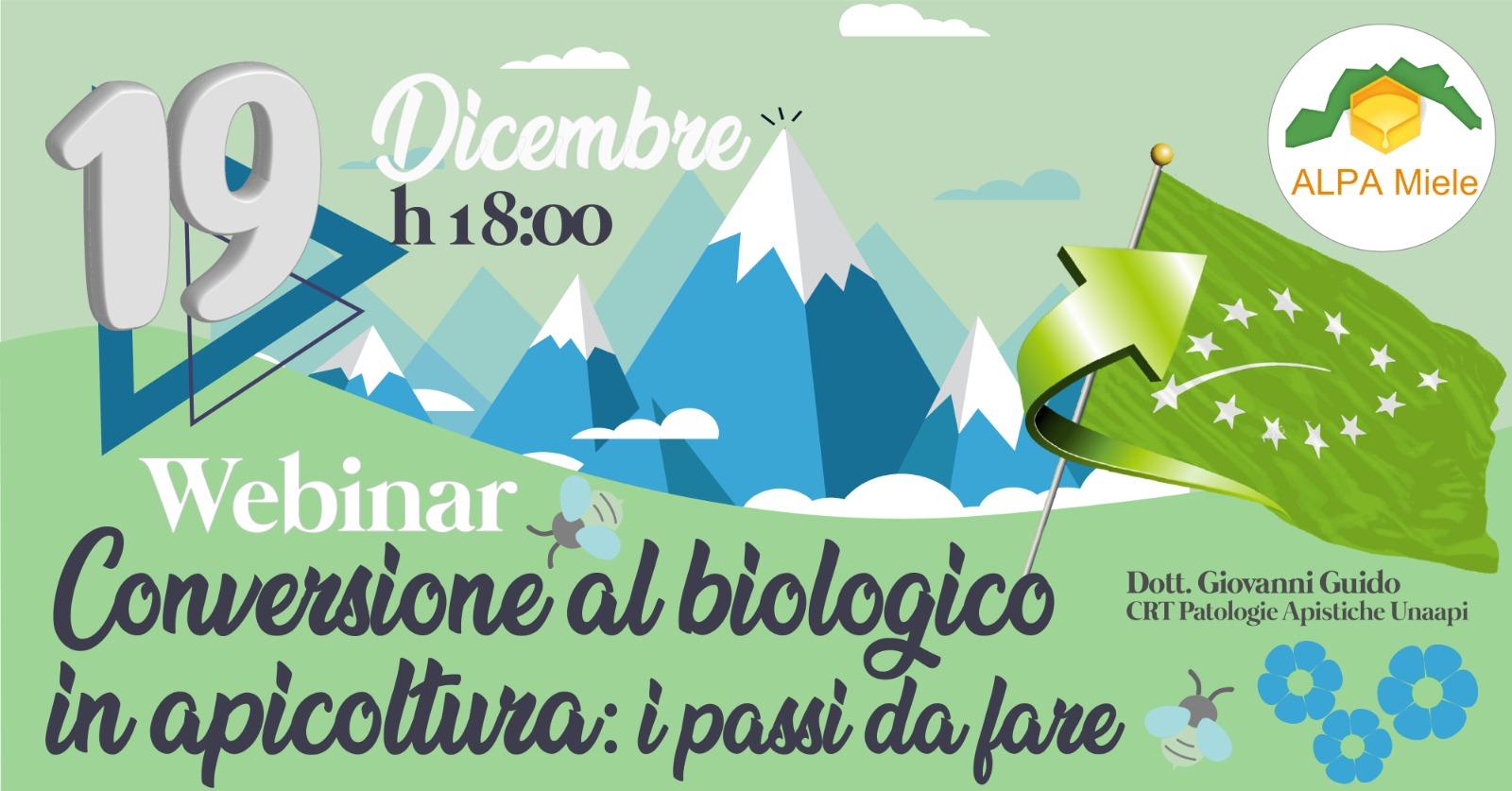 Webinar: Conversione al Biologico