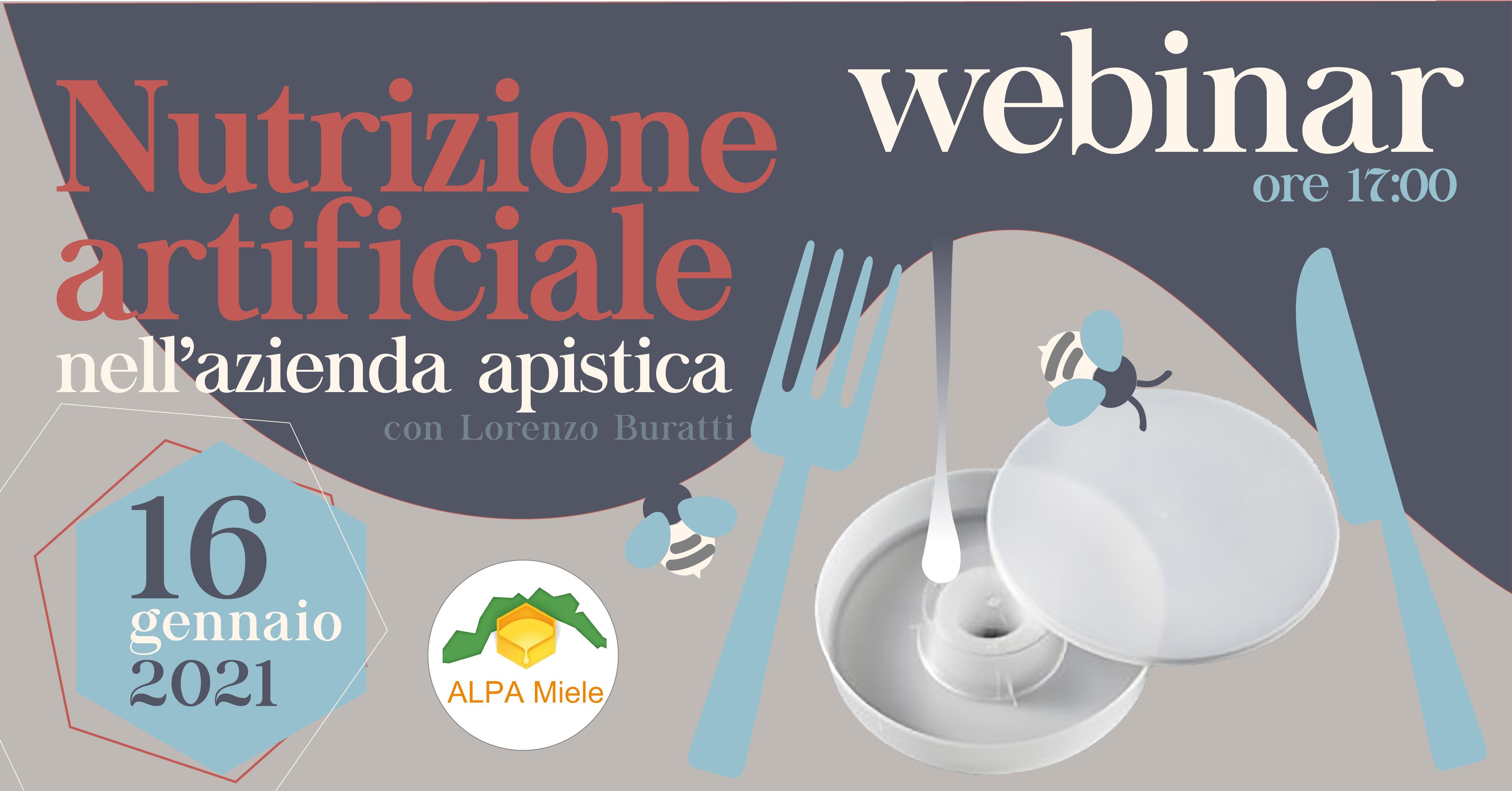 Webinar: Nutrizione Artificiale degli Alveari nell'Azienda Apistica