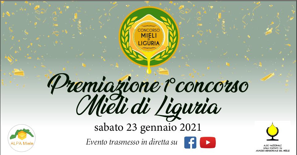 Premiazione 1° Concorso Mieli di Liguria
