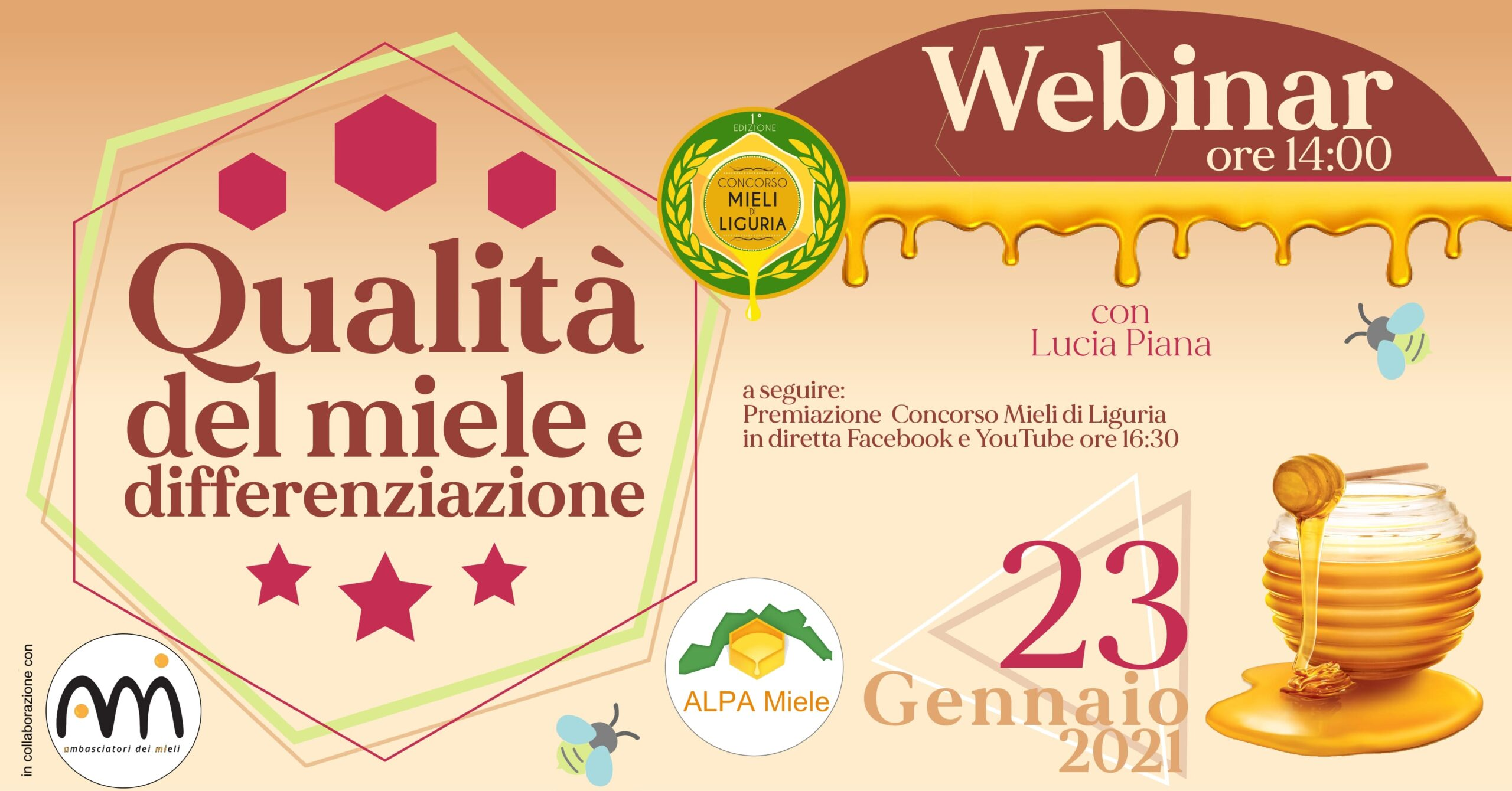 Webinar: Qualità del Miele e Differenziazione