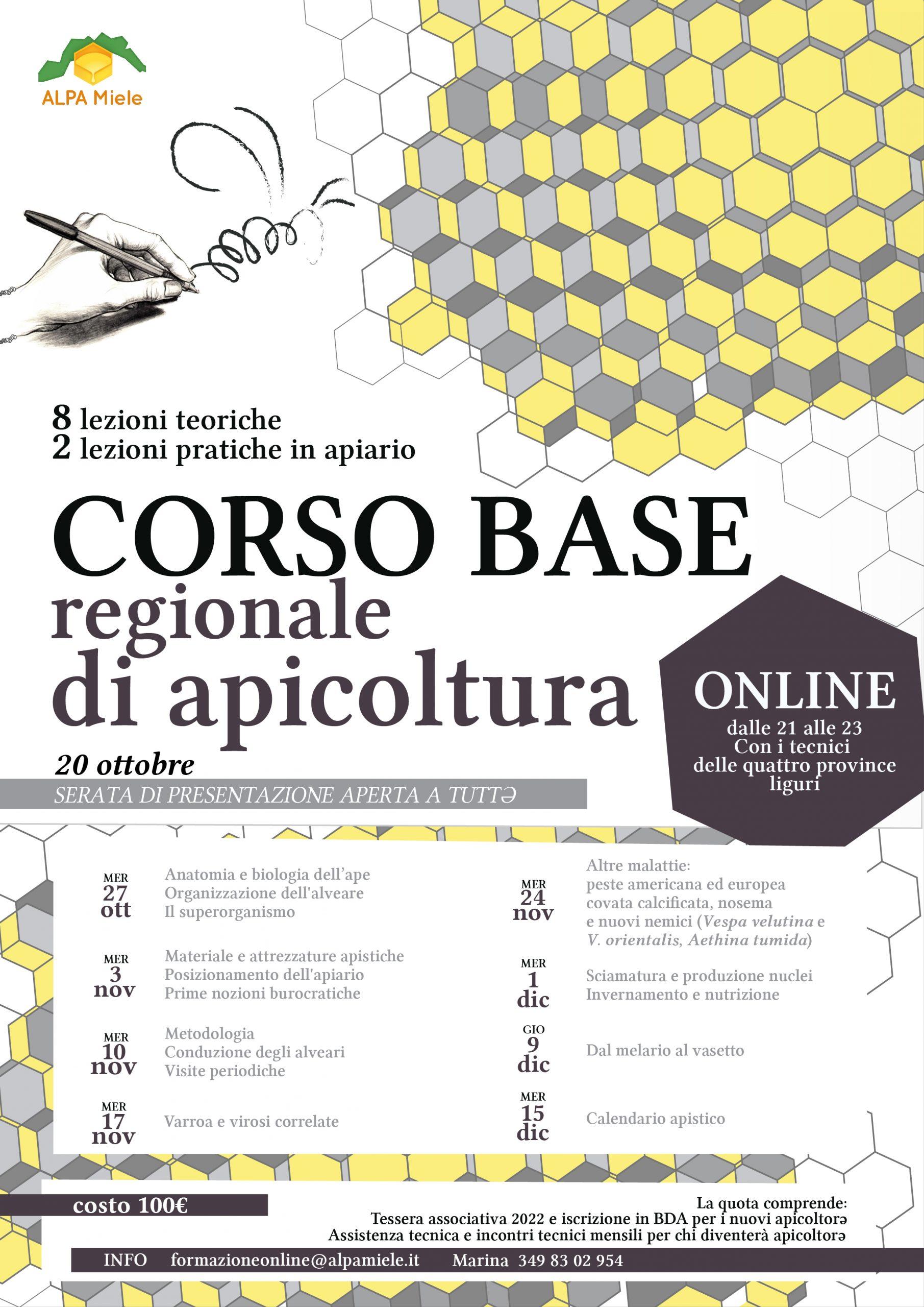Corso Base Regionale Ottobre 2021